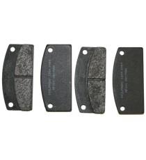 Plaquette de frein arrière Microcar virgo 3 / Microcar MC1/MC2 (1er montage) ,Jdm Titane 3