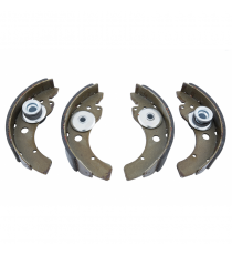 Jeu de 4 machoires de frein Microcar lyra diametre tambour 180mm