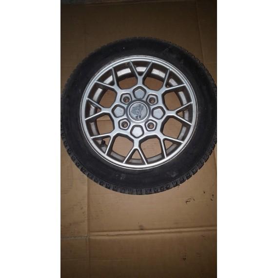 400 SL Jante Alu Aixam 400 evo , 400 sl , 400.4 , 500 sl , 500.4 , 500.5 D'occasion avec pneu usèe 145/60/R13
