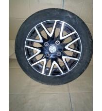 Jante Alu Aixam City , crossover , crossline avec pneus 155/65/R14 d'occasion