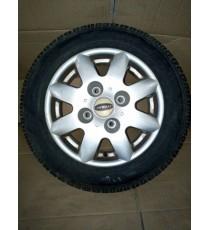 Jante ALu microcar Virgo , MC1 , MC2 avec pneus 145/70/R13 d'occasion