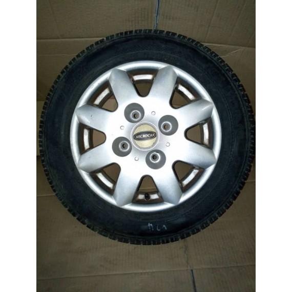 VIRGO 3 Jante ALu microcar Virgo , MC1 , MC2 avec pneus 145/70/R13 d'occasion