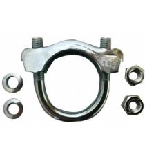 Collier d'echappement pour flexible diametre entre 32 et 40 mm