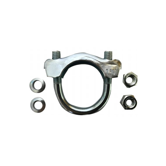Microcar Collier d'echappement pour flexible diametre entre 32 et 40 mm
