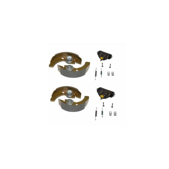 Tambour de frein Aixam KIT DE FREIN ARRIERE AIXAM, MICROCAR, LIGIER, JDM, CHATENET (POUR TAMBOUR 160MM)