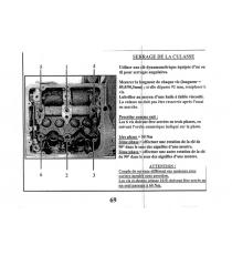 JOINT DE CULASSE MOTEUR LOMBARDINI FOCS / PROGRESS (2 ENCOCHE EPAISSEUR 1,65MM )