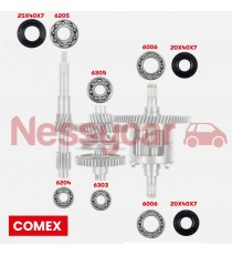 KIT REPARATION BOITE COMEX A PARTIR DE 2010 (CITY, CROSSLINE, CROSSOVER,COUPE, GTO, MEGA 2,IMPULSION,VISION,SENSATION