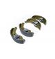 Mâchoire de frein Jeu de 4 machoires de frein aixam microcar / ligier / jdm / chatenet diametre ( tambour 160mm )