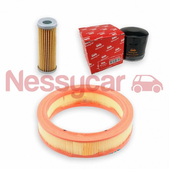 Kit entretien Microcar KIT ENTRETIEN MOTEUR YANMAR (3 filtres)